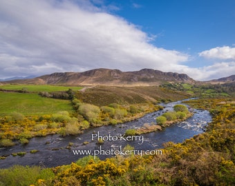 Caragh River, Glenbeigh, Co. Kerry Ireland - Irish souvenir gift - free postage