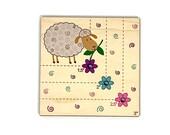 Sheep Corner Gauge Cross Stitch corner square tool