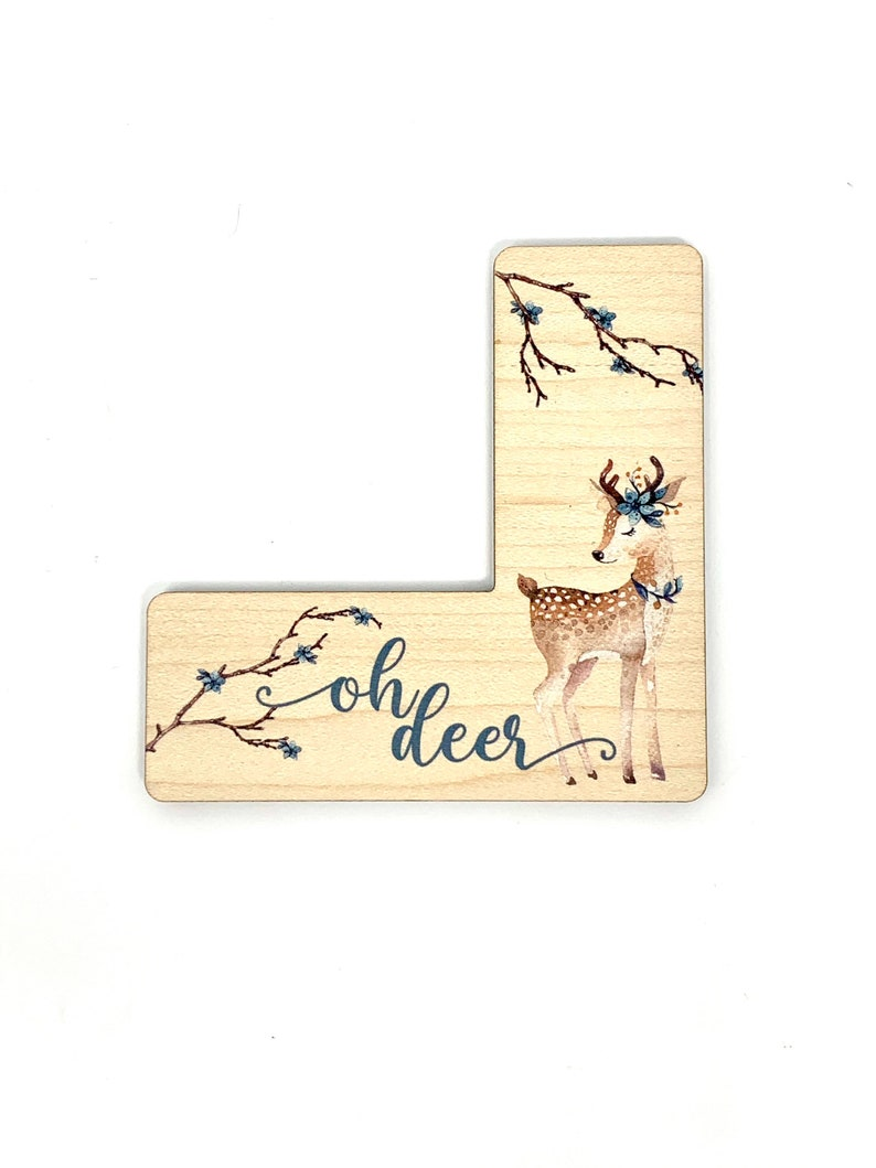 Oh Deer Pattern Marker window Cross Stitch and embroidery tool magnetic needle minder