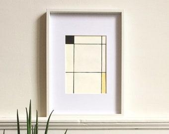 Wood frame: painting original wall decor