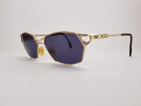 Cazal | Vintage | 1990s | Sunglasses | Gold/silver