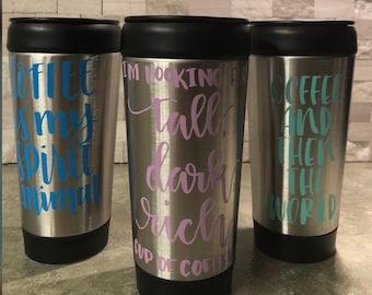 Lightweight Personalized Coffee Mug