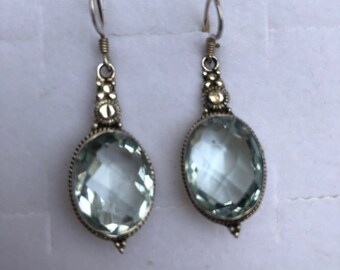 Aquamarine + Sterling Silver