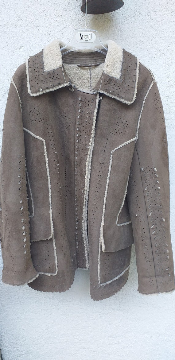 Ermanno Scervino mutton jacket