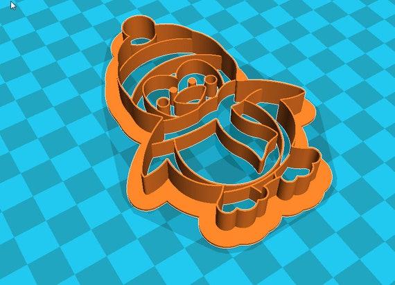 Stl file PENGUIN cookie cutter