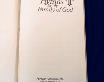Hymns for the Family of God Hymnal