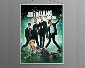 The Big Bang Theory Tv show cover home decor   poster
