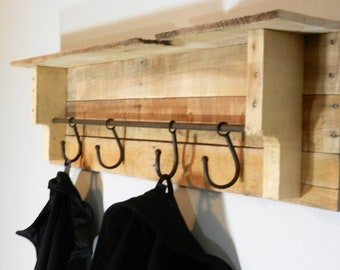 Pallet Coat Rack Etsy