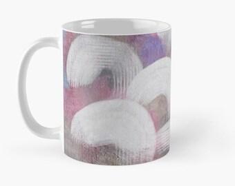 Coffee mug, Colorful Abstract coffee cup