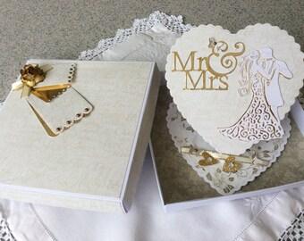 Wedding card boxed