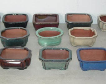 Bonsai Pot Etsy