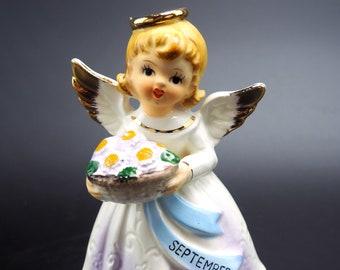 Bow Clover Mark Vintage Yoko Boeki Nihon Japan Owl Figurine Laurel