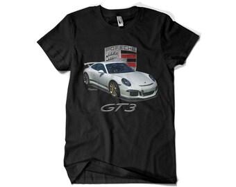 Porsche 911 GT3 w/Crest T-Shirt
