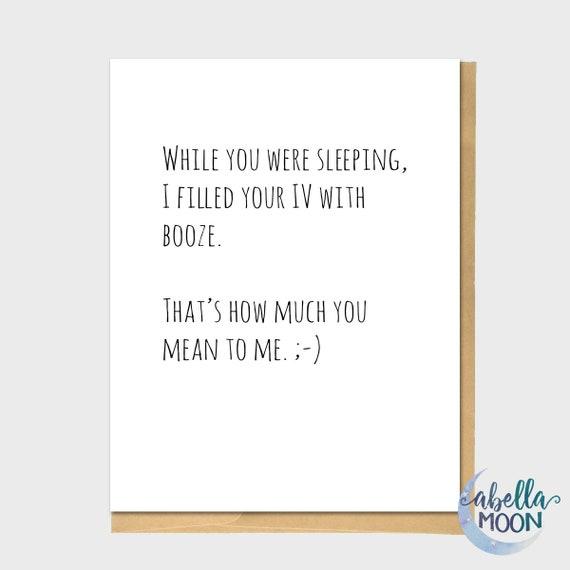 Lustig auch Grußkarte lustige Notiz-Karte Grußkarte | Etsy