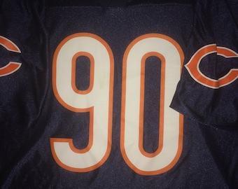 14a89f4a183 vintage Chicago Bears Julius Peppers Jersey L NFL Walter Payton Mike Ditka  Football Super Bowl