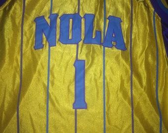 57f3d84fd vintage New Orleans Hornets Trevor Ariza Jersey Youth XL NBA Pelicans  Rockets Louisiana Big Easy Basketball