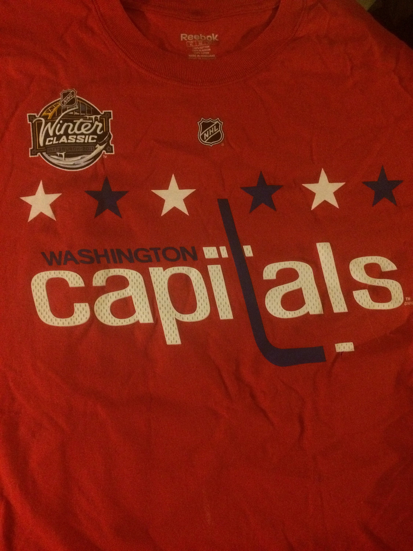 promo code 079fa 2e5d6 Washington Capitals 2011 Winter Classic Knuble #22 Shirt XL NHL Stanley Cup  Ovechkin Ovie DC Hockey
