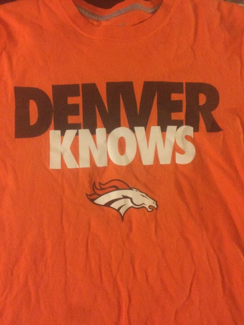 bd5672cd9 Denver Broncos Nike Shirt size Small NFL Von Miller Phillip | Etsy