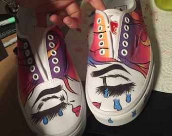 920172065404fe Hand painted vans