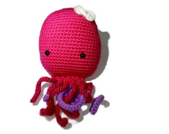 Crochet Octupus Handmade Amigurumi