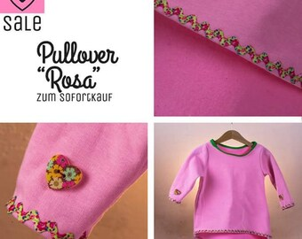 Children's Sweater Pink gr. 86