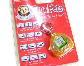Rare Giga Pets Compu Kitty Virtual Pet NEW Sealed Tamagotchi Style Tiger Electronics 1997