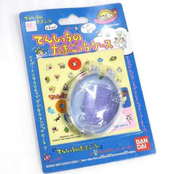 Bandai Official Tamagotchi Case Clear ver for Gen 1 Angel and Deviltchi 1997 Kawaii Japan Virtual Pet Cover FS 2