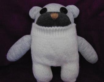 Teddy Bear Sock Animal
