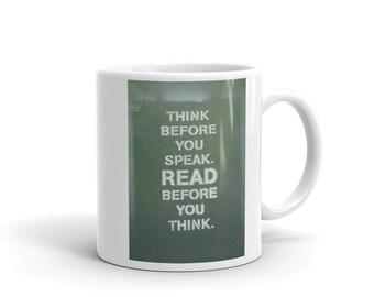 Think Read - Cermaic Mug