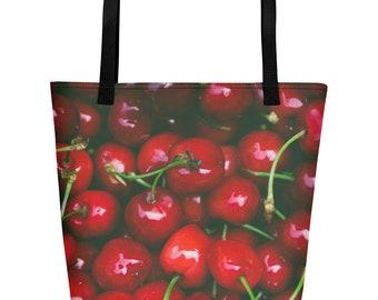 Cherry On Top?- Beach Bag