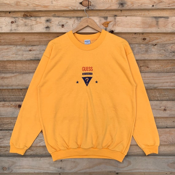 Vintage 90's Guess Sweatshirt Guess Crewneck Guess