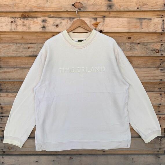 Vintage 90's Timberland Sweatshirt Timberland Crew