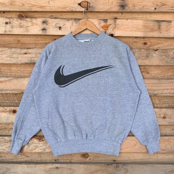 Vintage 90's Nike Sweatshirt Nike Crewneck Nike Pu