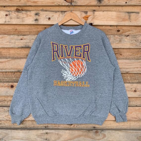 Vintage 90s River Sweatshirt Crewneck River Sweate