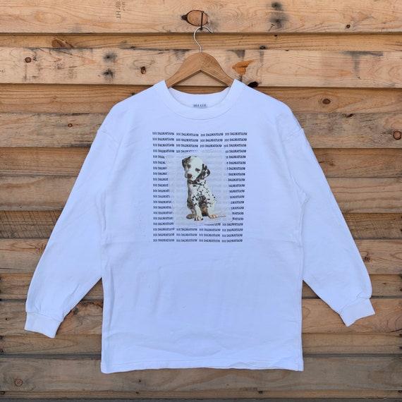 Vintage 90's 101 Dalmatians Sweatshirt 101 Dalmati