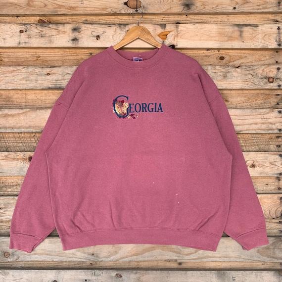 Vintage 90s Georgia Sweatshirt Crewneck Georgia Sw