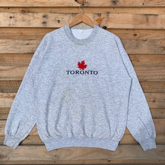 Vintage 90's Toronto Sweatshirt Toronto Crewneck T