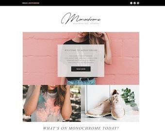 Monochrome Customizable Page