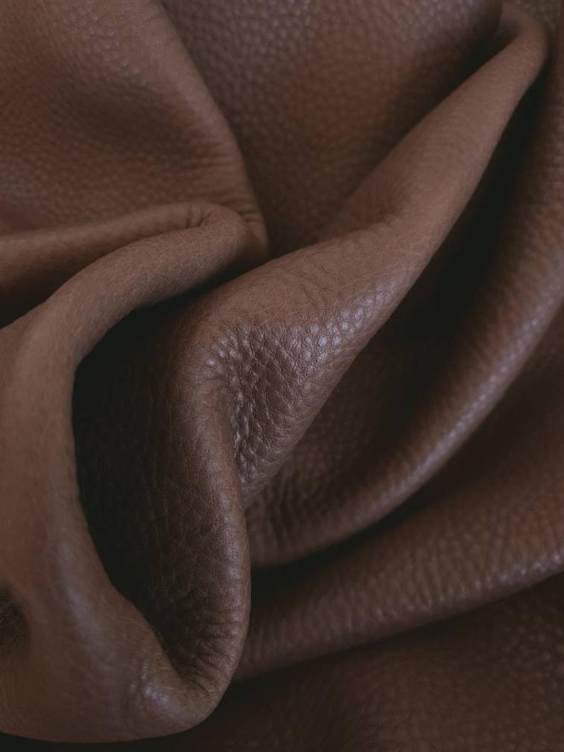 Brown Bicolor Oil Trento Natural Full Grain Flotter Leather
