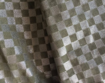 Soft Green Pattern Leather