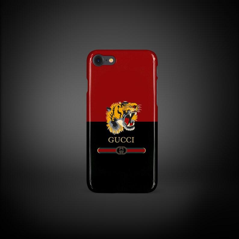 reputable site 45f2f e62ef iPhone SE Case Gucci, iPhone 5s Case, iPhone 5 Case, Samsung s7 Edge Case,  Samsung s7 Case, Tiger Gucci Case, Red White Case InspiredByGucci