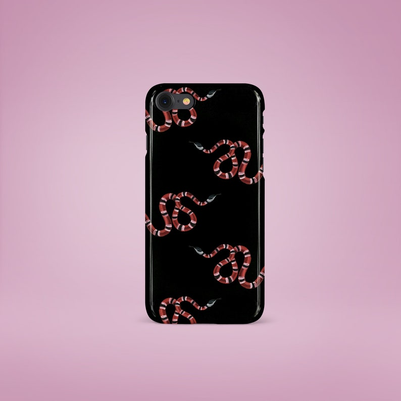 low priced 84a97 b1c53 Inspired By Gucci Snake Phone Case iPhone X XS 8 Plus 5 5S Case Samsung  Galaxy S6 S7 S8 S9 S10 S10e Plus Case Gucci