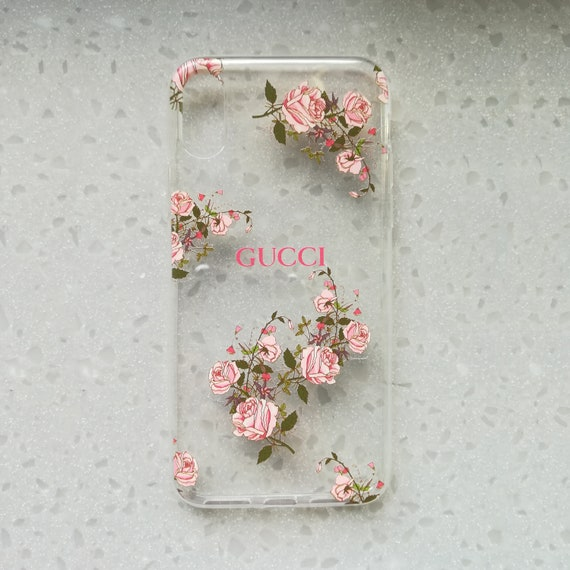 dc5fc0a196c91 Samsung s7 Edge Clear Samsung s7 Case Samsung s6 Edge Plus Case Samsung s6  Edge iPhone X Case iPhone 8 Plus Case Case Clear InspiredBy Gucci