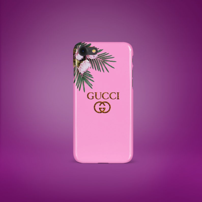 61a1b5f3969a5 Inspired By Gucci iPhone Case Pink Gold iPhone 6 7 8 Plus Case iPhone 5 SE  Case Galaxy Edge Samsung Case Galaxy s6 7 s8 s9 Plus Case Flowers