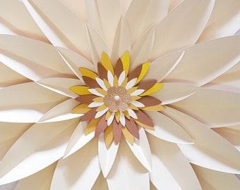 Gerbera Centrepiece Medium #34 SVG Template - Digital Download - SVG file - Cutting Machine
