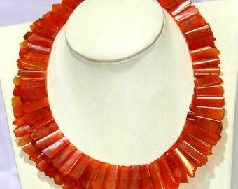 classic style new design carnelian gemstone necklace