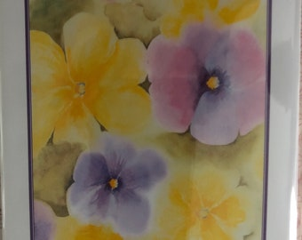 Spring flower note cards