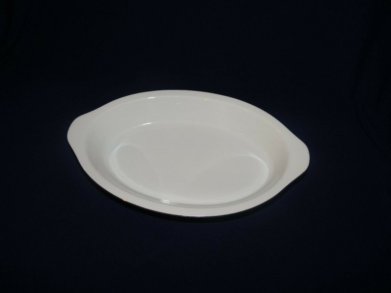 White with white design Au Gratin 2 available Silver trim Crown Victoria Lovelace China