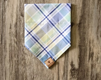 Plaid & Pastel Bandana