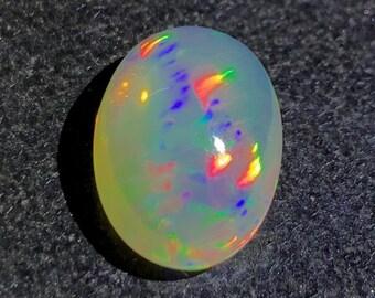 Opal Gemstone Top Quality Loose Opal Gemstone 9X7 MM size Opal Cabochon Welo Fire Opal AAA Ethiopian Opal Cabochon 1 carat